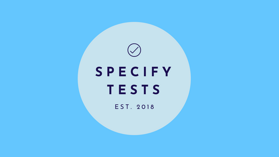 Specifiy Salesforce Tests