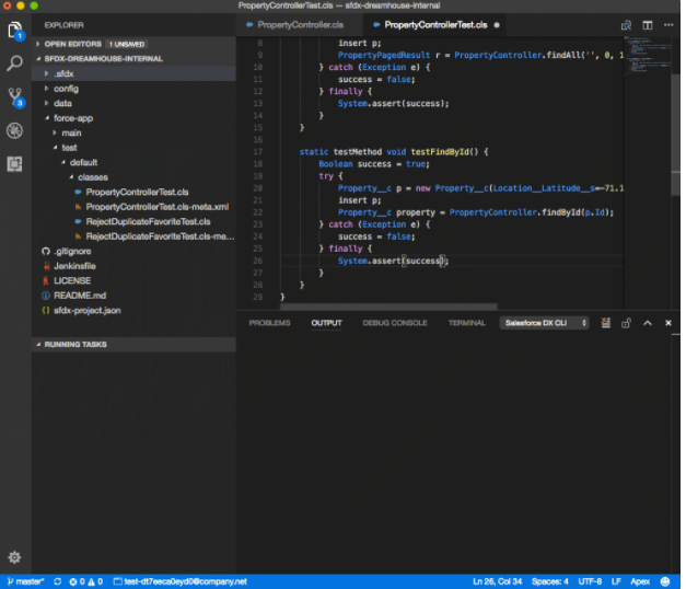 Salesforce DX and VS Code